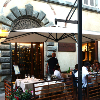 Dining at Trattoria Bruno Coppetta
